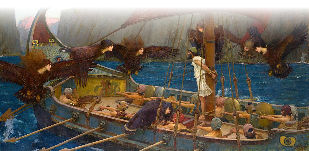 The Sirens' Attack on Odysseus