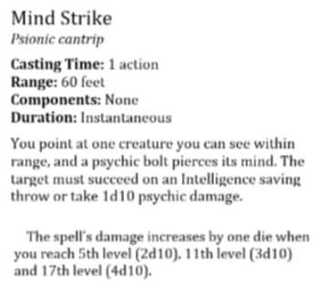 Mind Strike
