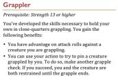 Grappler (SRD)