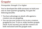 Grappler (SRD)