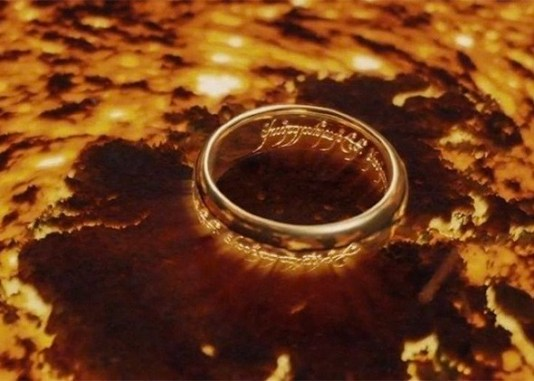 The One Ring at Mount Doom