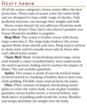 Heavy Armors