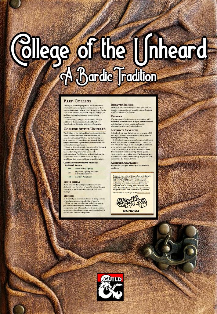 College of the Unheard?w=250