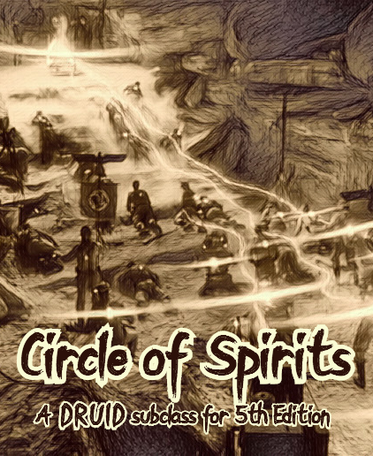 Circle of Spirits Cover