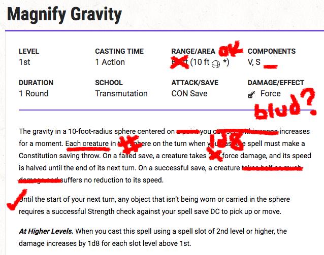 De-Magnify Gravity