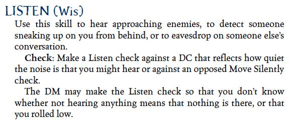 Listen (3e)