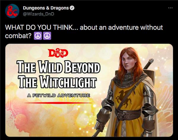 D&D is a Combat Game